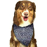 Bert-Collins Dog Bandana Pañuelos para Perros, fghh Triangle Bibs Printing Set de pañuelos para Perros