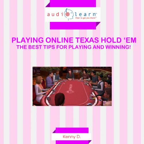 Playing Online Texas Hold 'Em audiobook cover art