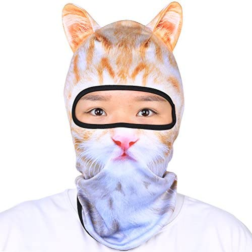 Oumers Animal Balaclava Face Mask with Ears Breathable Hood Face Shield for Outdoor Sports Cycling product image