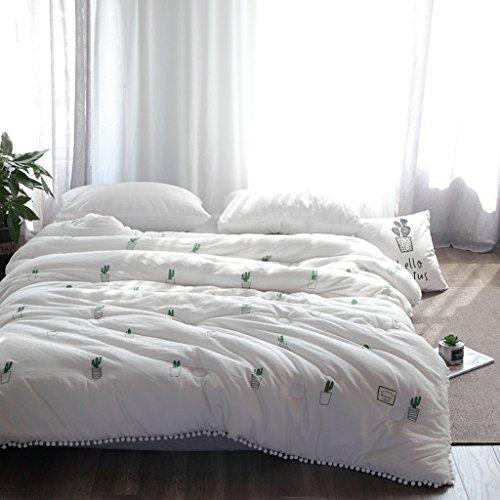 MMM Cotton Winter Quilt Sanding Broderie simple Quilt Core Thicker Keep Warm Literature (taille : 220 * 240cm(4kg))