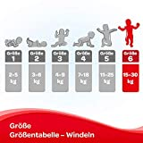Huggies Windeln Ultra Comfort Baby Größe 6 Monatsbox, 1er Pack (1 x 102 Stück) - 4