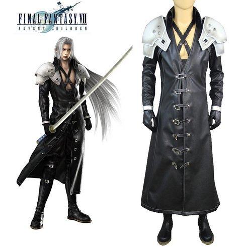 コスプレ 衣装+鎧 ファイナルファンタジーVII FF7 セフィロス (Sephiroth) cosplay