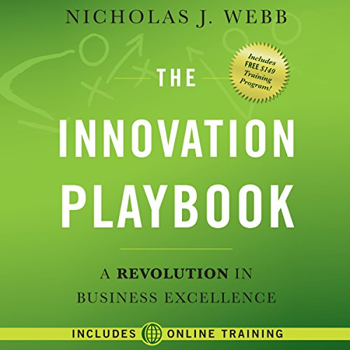 The Innovation Playbook: A Revolution in Business Excellence audiobook cover art