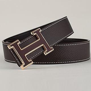 9c9ec1d921e08 KOUG ceinture d'homme en cuir façon simple bon boucle lettre d'occasionnels  ceinture