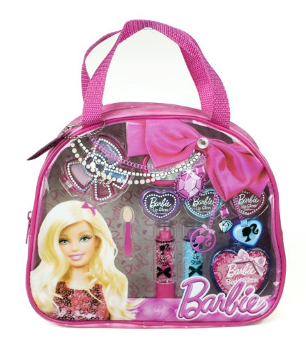 Barbie Time To Shine Fashion Tote Coffret 13 Produits de Maquillage