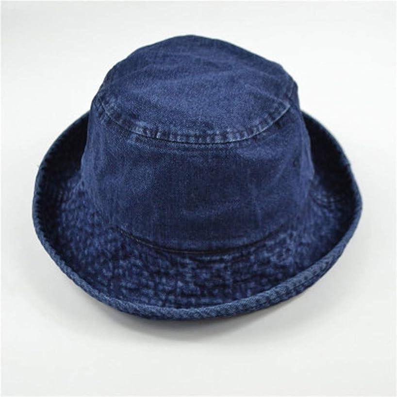 好ましい先行する脳ZFDM カウボーイハット純色野生のバイザーの漁師の帽子の日曜日の帽子の折り畳み式の ライト