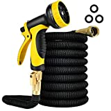 iPower 25FT Expandable Garden Water Hose with High Pressure...