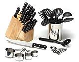 Sabatier Precision 38-Piece Knife Block and Tool Set