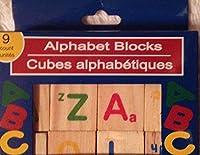 Alphabet Wooden Blocks (9 Count) [並行輸入品]