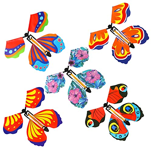ZHIHUAN Magic Flying Butterfly Toys for 3-8 Year Old Boys Girls, Novelty Toys Flying Toy for 3-9 Year Old Boys Girls for Boys Girls Age 3-10