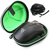 CASEMATIX eSports Mouse Case for Gaming Mice Compatible with Logitech G Pro, MX Master 3, Razer Basilisk X, Mamba, DeathAdder Elite, Naga Trinity, Viper / Corsair Harpoon, Steelseries Aerox 3 and More