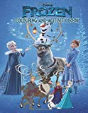 Frozen Colouring And Activity Book: Magical book for kids up to age 8