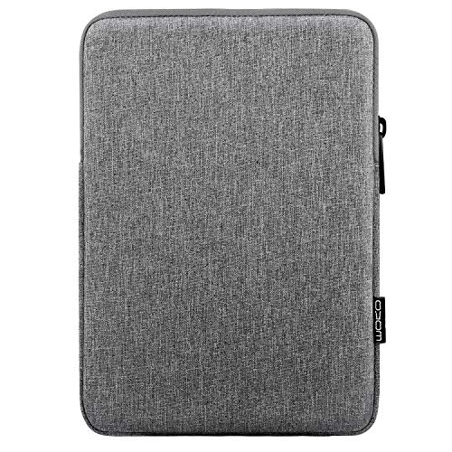 MoKo 12.9 Inch Laptop Sleeve Case Fits iPad Pro 12.9 3rd/4th Generation 2018-2020, iPad Pro 12.9 2017/2015, Surface Laptop Go 12.4', Polyester Bag Fit with Apple Pencil and Smart Keyboard