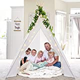 Teepee Tent for Adults & Kids 87 'H- 5...