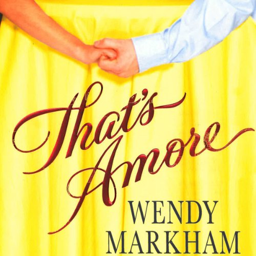 That's Amore audiobook cover art