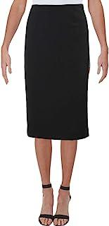Kasper Women's Solid Skimmer Skirt