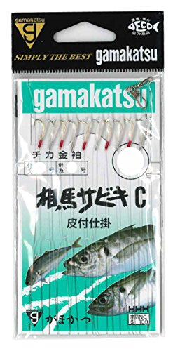 がまかつ(Gamakatsu) 3H 相馬サビキ C型 S108 4号-ハリス1