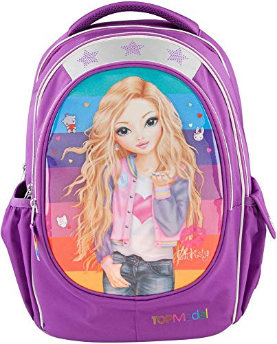 Top Model Topmodel Friends Mochila De Escolar, Purpurina Rucksack, 40 cm, Mehrfarbig (Multicolor)