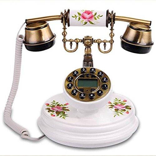 Liu Yu·maison créative,Blanc, solide, bois, pastoral, Style, retro, maison, téléphone