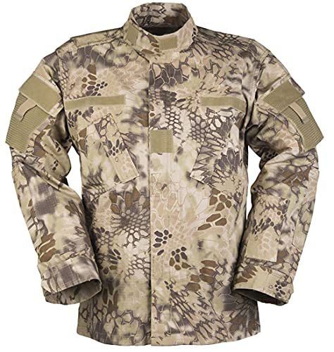 Mil-Tec ACU veste militaire american homme RipStop (Mandra Tan/XXL)