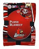 University of Louisville Cardinals Super Soft Plush Blanket, 60x80 inch