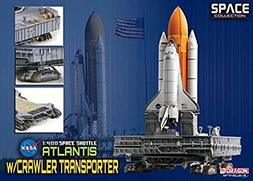 Dragon 500756392 - 1 400 Space Shuttle Atlantis w Crawler T