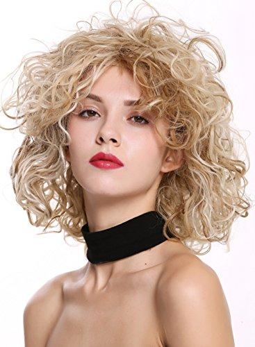 WIG ME UP - DW-2698 Damenperücke Perücke kurz schulterlang wild gelockt lockig voluminös Blond Mix