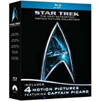 Star Trek: The Next Generation Motion Picture 5-Movie Collection on Blu-ray