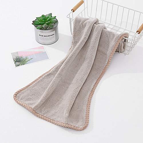 XNBCD Verdikte microvezel Coral Velvet Dry Hair Towel Vrolijk sterk absorberende badhanddoek voor volwassenen