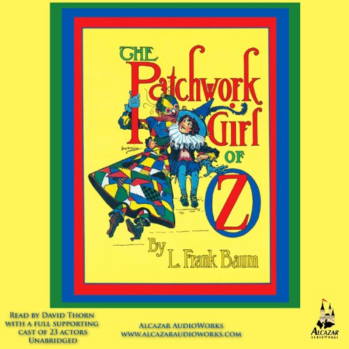 The Patchwork Girl of Oz  By  cover art