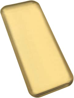 FREELOVE Gold Serving Tray, Stainless Steel Platter Bathroom Sink Vanity Trays Cosmetics Jewelry Organizer Towel Tray Tea ...