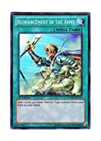 遊戯王 英語版 LCYW-EN173 Reinforcement of the Army 増援 (スーパーレア) 1st Edition