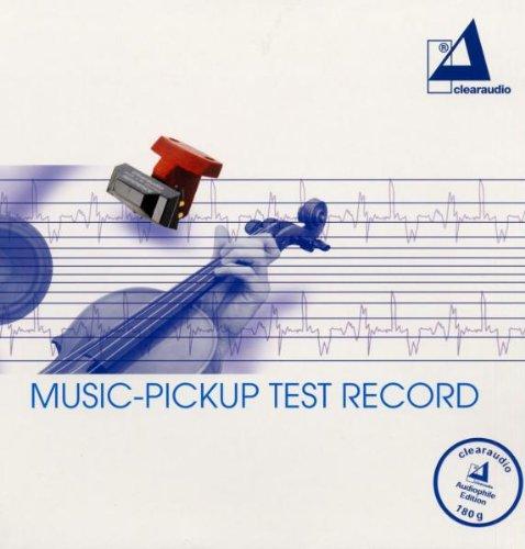 Music Pickup-Test Record [Vinilo]