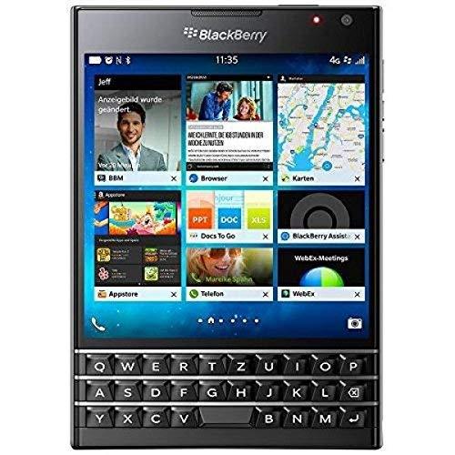 BlackBerry Passport Smartphone, Nano-SIM, Memoria 32 GB, Nero [Germania]