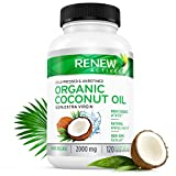 Coconut Oil Capsules for Hair Growth, Radiant Skin & Natural Weight Loss
