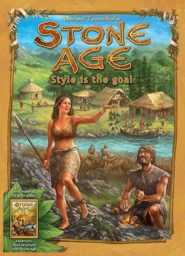Stone Age Style Is The Goal - Juego de Estrategia, 2 a 5 Jugadores (Rio Grande Games) [Importado]: Amazon.es: Juguetes y juegos