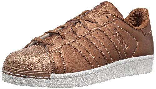 adidas Originals Superstar J, Coppmt,Coppmt,Coppmt, 4.5 Medium US