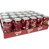 330ml Vanilla Coca-Cola (Paquete de 24 x 330 ml)