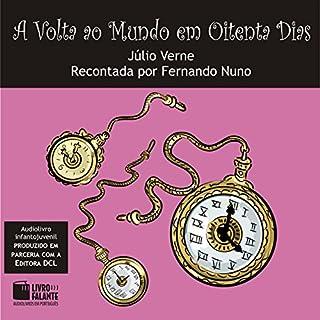 A Volta ao Mundo em Oitenta Dias [Around the World in Eighty Days] audiobook cover art