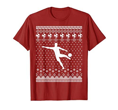 Fútbol de Navidad Fea Navidad Camiseta