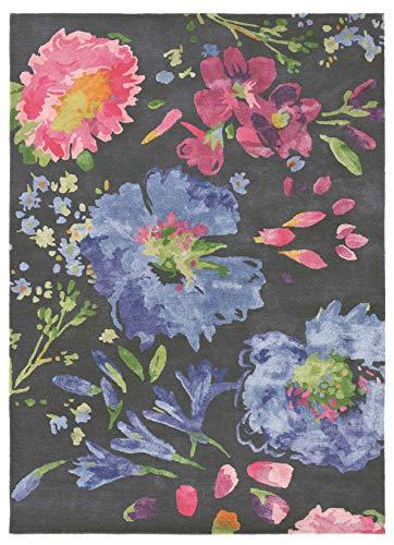 Bluebellgray - Kippen 18705 Teppich - 250x350 cm - Rechteckig - Kurzflor - Klassisch - Mehrfarbig - Für Wohnzimmer, Schlafzimmer, Esszimmer