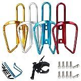 Portabotellas Bicicletas, Senteen 4pcs Portabidón Bicicleta Super Light...