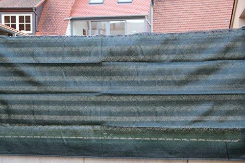 Zaunblende grün 1,2 x 5 m