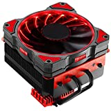 Jonsbo CR-101 CPU Cooler (4 Pin, 1600 RMP) (Red)