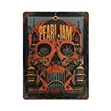 Kenn Taylor PJ Pearl Jam Vintage Blechschild Kunst Eisen