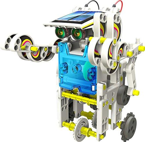 14-en-1 para la Educación Solar Robot Kit