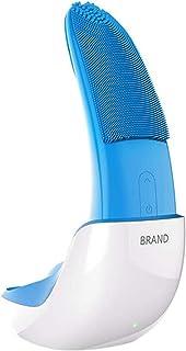 Gezichtsreinigingsborstel Siliconen gezichtsreiniger Oplaadbaar Elektrisch wasinstrument Draagbare elektrische siliconen g...