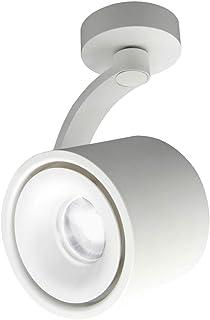 HAOFU 10W luz de techo LED Lámpara de pared - luz de techo y pared, Led Downlight,Focos para el techo,Focos de techo, luz blanco Frío, 6000K, IP20 (Blanco+blanco Frío)