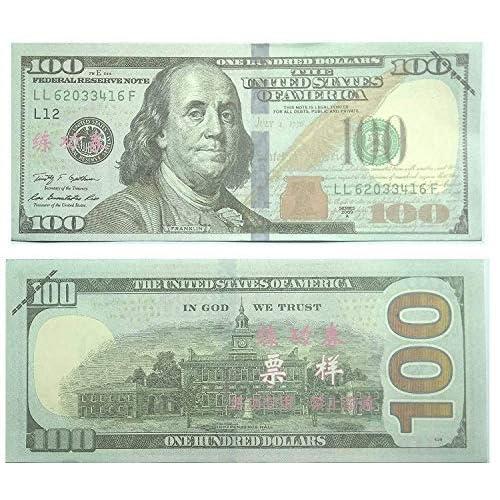 100 Dollar Bill Real Money Amazon Com