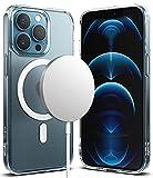 Ringke Fusion Magnetic Compatible con Funda iPhone 13 Pro MAX (2021), Magnética Funda Compatible con Cargador MagSafe, Carcasa Anti Huella Dactilar - Matte Clear